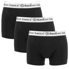 liam 3-pack trunks combi zwart