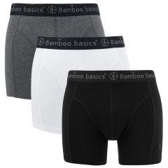 rico 3-pack zwart / wit / grijs