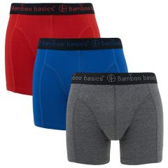 rico 3-pack grijs / blauw / rood