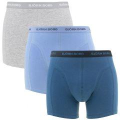 essential 3-pack blauw & grijs