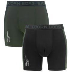 performance sports academy 2-pack zwart & groen