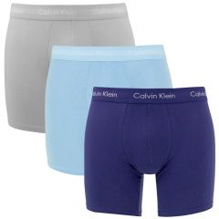long fit 3-pack blauw K7O