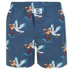 boxershort pelikan blauw