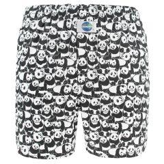 boxershort panda zwart & wit