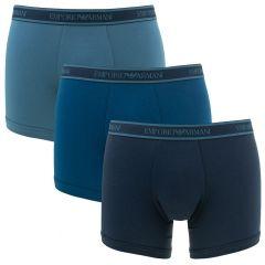 3-pack boxers blauw VI