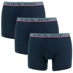 silver fit 3-pack blauw