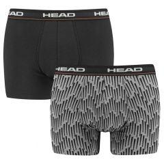 AOP 2-pack grijs & zwart