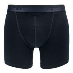 HO1 premium cotton modal long boxer donkerblauw