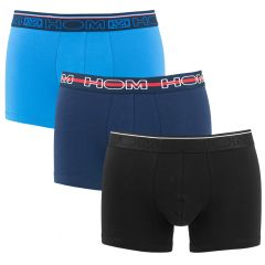 boxer briefs nikolas 3-pack zwart & blauw
