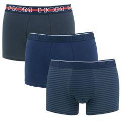 boxer briefs matt 3-pack blauw