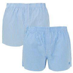 woven 2-pack blauw XV