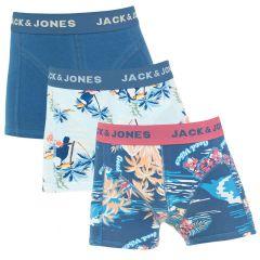 jongens tropic pinapple 3-pack blauw