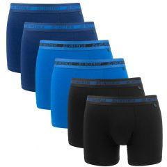 bamboe 6-pack blauw