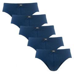 herenslips 5-pack blauw