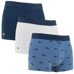 3-pack soft cotton trunks iconic multi