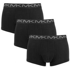3-pack basic trunks zwart