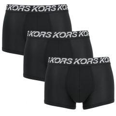 3-pack sport poly trunks zwart