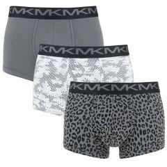 3-pack trunks dots & print multi