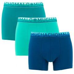 cotton 3-pack blauw & groen
