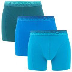 3-pack blauw & groen