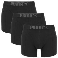premium sueded cotton boxers 3-pack zwart