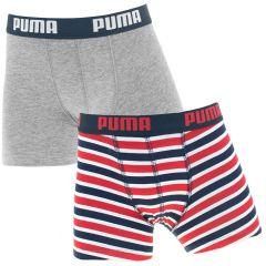 jongens 2-pack printed stripes multi III