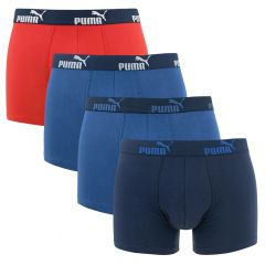 everyday 4-pack boxers blauw & rood
