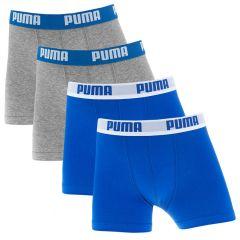 jongens 4-pack everyday blauw & grijs