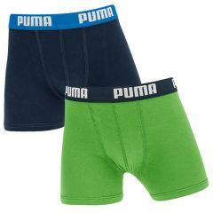 jongens 2-pack groen & blauw
