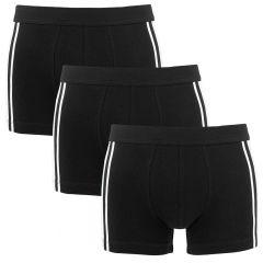 95/5 3-pack shorts zwart