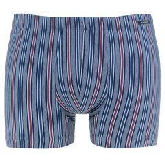 streep short blauw