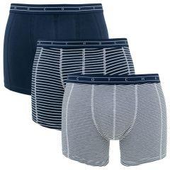 3-pack stripes & blauw
