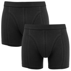 fine boxer 2-pack zwart