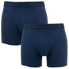 fine boxer 2-pack blauw