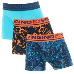 jongens 3-pack jungle blauw